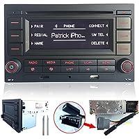 Radio de coche rcn210reproductor de CD USB MP3, AUX, Bluetooth para VW Golf MK4Passat B5Polo