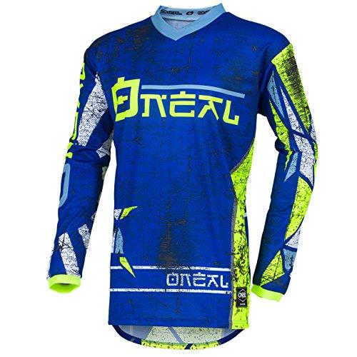O\'Neal Element Zen Motocross Jersey MX Enduro MTB DH Cross Trikot Mountain Bike Gelände, 001E-0Adult, Farbe Blau, Größe XL