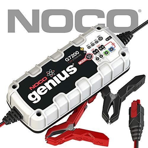 NOCO G7200EU 12V/24V 7.2 Amp Intelligente Caricabatteria e Mantenitore di Carica automatico per Auto, Moto e Altro