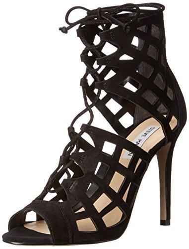 Steve Madden Sedduce Dress Sandal Black nubuck