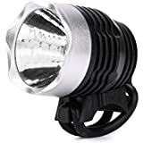 RAISSER® 2017 New Free Shipping Portable Bike LED Bicycle Bike Light Front Cycling Light Head Lamp For Cycling O26