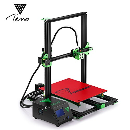 TEVO Tornado 3D Full Aluminium Frame 300*300*400mm Large Printing Bed Printer with Titan Extruder High Precision Usb 3D