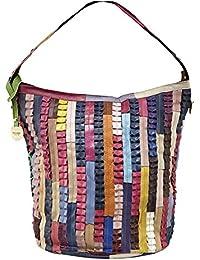 PICARD Janis Beuteltasche Damenhandtasche | Rinderleder | 41 x 38 x 23 cm (BxHxT) | abnehmbarer Schultergurt |