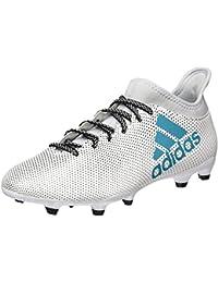 adidas X 17.3 Fg, Chaussures de Football Homme, Blanc