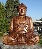 Super schöner 40 cm BUDDHA Meditation HOLZ BUDDA Feng Shui BMHU40
