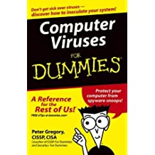 Computer Viruses For Dummies by Peter H. Gregory (27-Aug-2004) Paperback