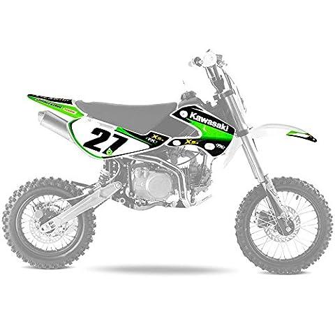 Kit deco KLX110 - Kawasaki - Dirt bike / Pit bike / Mini Moto