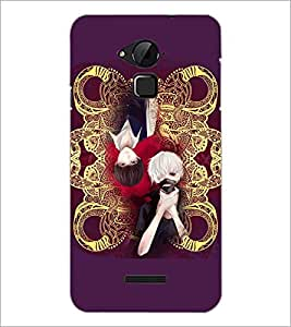 PrintDhaba Random Design D-4917 Back Case Cover for COOLPAD NOTE 3 LITE (Multi-Coloured)