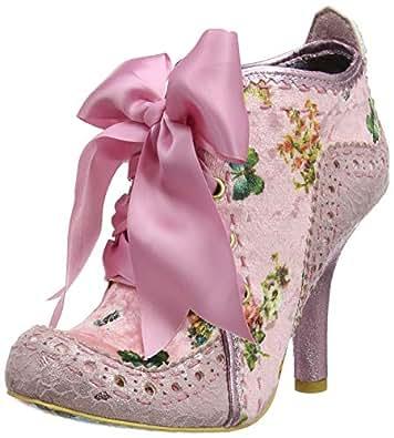 Irregular Choice Women's Abigail's Third Party Ankle Boots, (Pink Cb), 3.5 UK 36 EU