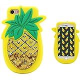 Leosimp -Coque motif Dessin animé pour iPhone 5, Silicone, Quicksand Pineapple,...