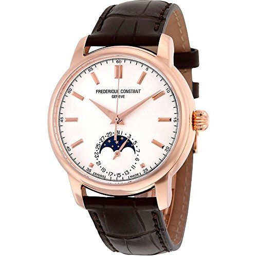 FREDERIQUE CONSTANT MEN'S CLASSICS MOONPHASE 40.5MM AUTOMATIC WATCH FC-715V4H4