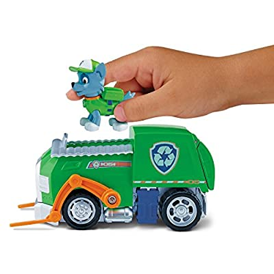 Paw Patrol - Rocky's Recycling Truck (Spin Master 6027644) de Spin Master