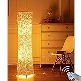lvyuan Stehleuchte romantische Lampe Leuchte Licht Stehlampe in Modernem und kreativem Design, 132 x 26cm Europlug