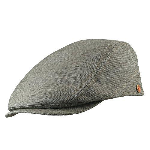 Mayser Rollable UV80 Outdoor Flatcap Delian Stone 58 (Kangol Trucker Hut)