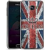 Samsung Galaxy A3 (2016) Housse Étui Protection Coque Reine Drapeau Grande-Bretagne Union Jack