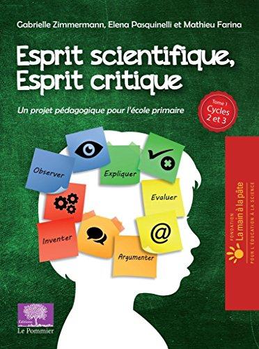 Esprit scientifique, esprit critique