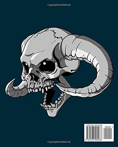 Skulls : Day of the Dead: A Stress Management Coloring Books for Grown-Ups: Awesome Animal Skulls Coloring Book,Anti-Stress Coloring Book (Tattoo Day of The Dead Skull Volume 3)