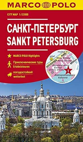 MARCO POLO Cityplan Sankt Petersburg 1:12000 (MARCO POLO Citypläne)