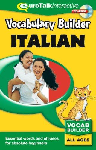 Preisvergleich Produktbild Vocabulary Builder Italian: Language fun for all the family All Ages (PC / Mac)