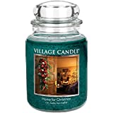 Village Candle Home For Christmas 26oz Premuim Candle by Village Candle