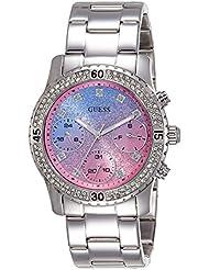 Guess Damen-Armbanduhr Analog Quarz Edelstahl W0774L1