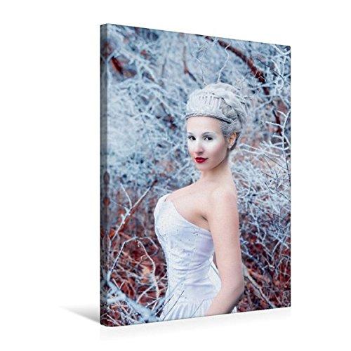 and 50 cm x 75 cm hoch, Frost und Eis | Wandbild, Bild auf Keilrahmen, Fertigbild auf echter Leinwand, Leinwanddruck: Ein modernes Märchen (CALVENDO Menschen) (Eis Märchen Kostüme)