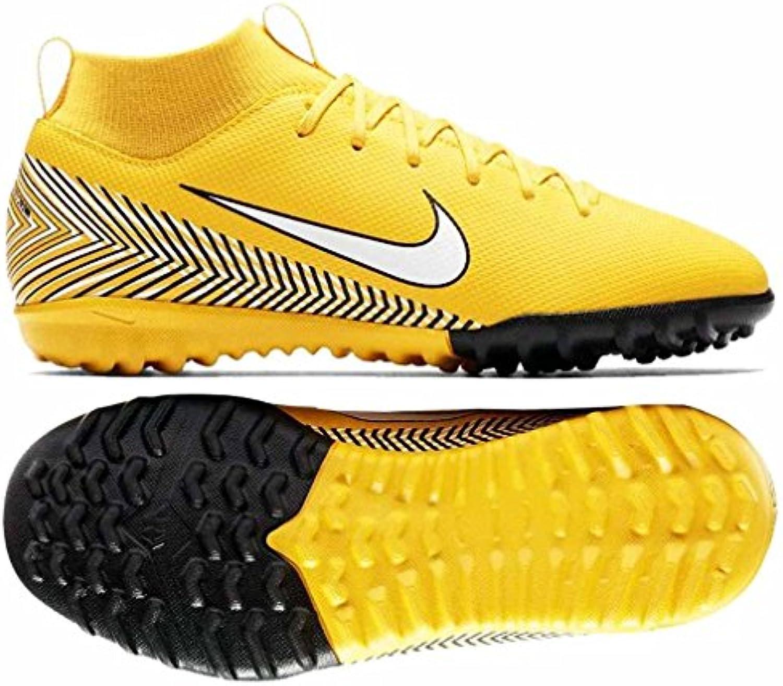 Nike Jr Suprfly 6 Academy GS NJR TF, Zapatillas de Deporte Unisex Adulto, Multicolor (Amarillo/White/Black 710