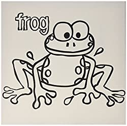 PaintaDoodle 12 x 12 Frog Canvas Painting Kit