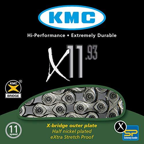 Fahrradkette KMC X-11-93 114 Glieder