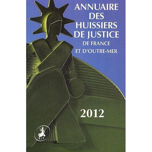 Annuaire des Huissiers de Justice de France et d'Outre-Mer