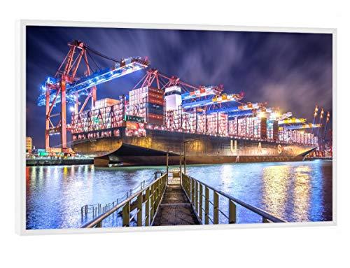 artboxONE Poster mit weißem Rahmen 30x20 cm Al Zubara II von Künstler Jan Hartmann - Poster mit Kunststoffrahmen