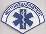 Rettungsassistent Rescue Medical RTH Emergency Rotes Kreutz Aufnäher Patch