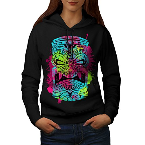 Psychedelic Cool Fashion Women M Kapuzenpullover | Wellcoda (Psychedelic Lady Kostüme)