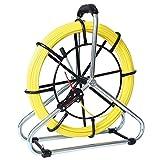 Runpotec Standard-Set Glasfaserstab 80 m, Durchmesser 6 mm, Gewinde RTG, Durchmesser 6 mm inklusive Stahlhaspel, Durchmesser 530 mm, 10066