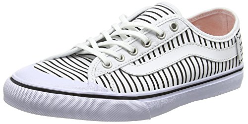 Vans Black Ball Sf, Women's Low-Top Sneakers, White (just Stripes/true White/black), 4 UK (36.5 EU) Vans Black Ball Sf, Women's Low-Top Sneakers, White (just Stripes/true White/black), 4 UK (36.5 EU) 51WY6vtGxBL
