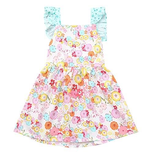 Mädchen Kinder Mädchen Prinzessin fest Brautkleider festlich Partykleid -