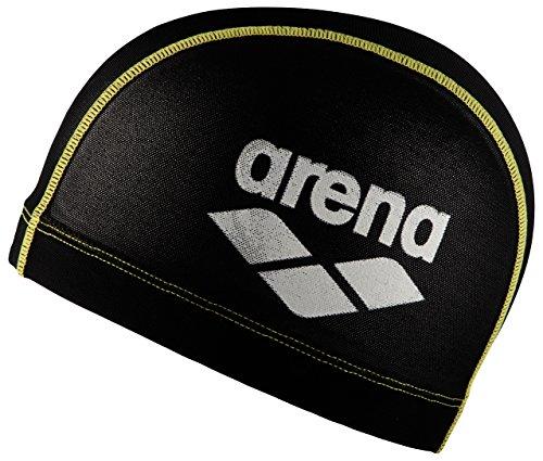 arena Lycra Power Mesh Cap Badekappe, Herren, Gelb (Yellow), Uni -