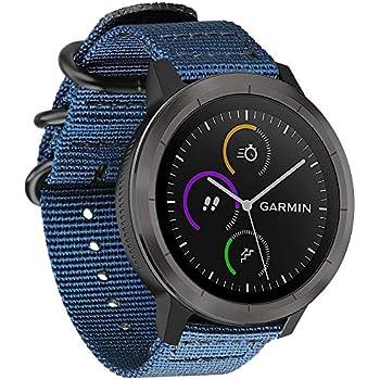 FINTIE Bracelet pour Garmin Vivoactive 3/ Garmin Vivoactive 3 Music/Forerunner 645 Music/