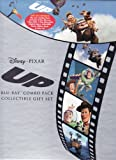Up Disney Pixar LIMITED EDITION GIFT SET Includes 2 Disc Blu-Ray, 1 Disc DVD, 1 Disc Disneyfile Digital Copy, Collectible Book, Sticker Book and Litho Set