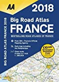 AA Big Road Atlas France 2018 (Aa Road Atlas France)