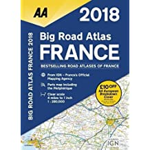 Big Road Atlas 2018 France