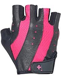 Harbinger Handschuhe Pro für Damen Pro, zum Waschen und Trocknen, Schwarz / Pink