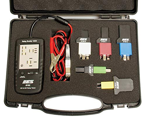 "ESI 193 Black 2.5"" x 5"" 12/24V Diagnostic Relay Buddy Pro Test Kit - Best Price"