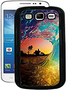 ColourCraft Beautiful Water Waves Design Back Case Cover for SAMSUNG GALAXY S3 I9300 / I9305