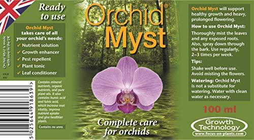 Growth Technology-GRP30 05-210-130 100 ml Orchid Myst Spray - Black