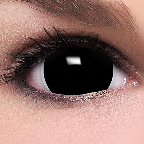 Farbige schwarze Kontaktlinsen