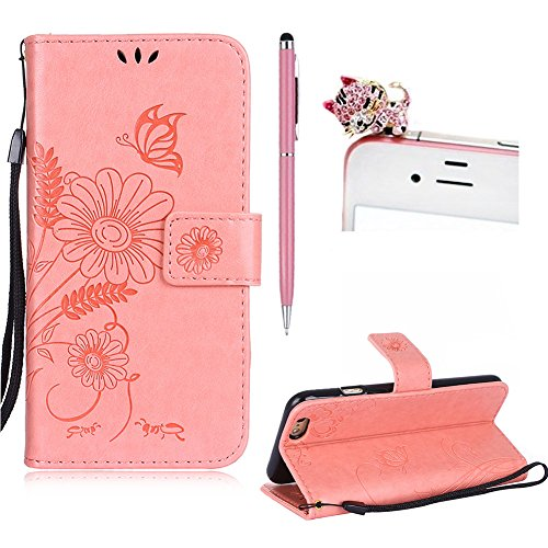 custodia iphone 6 pelle rosa