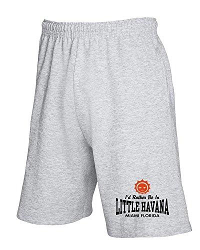 Cotton Island - Pantalone Tuta Corto OLDENG00163 little havana fl, Taglia L
