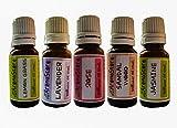 #4: Aroma Diffuser oil SET of 5 aroma oils Lemon Grass, Jasmine, Rose, Lavender, Sandalwood