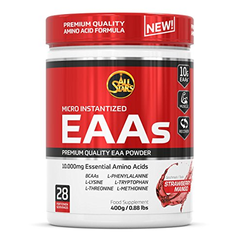 All Stars EAA Powder, Strawberry-Mango, 1er Pack (1 x 400 g)